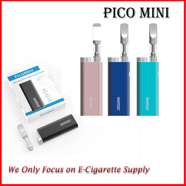 VapMod Pico Mini Kit 450mAh Voltaggio variabile VV Vape Box Mod per 510 Olio denso Vaporizzatore Serbatoio 100% Originale DHL Libero