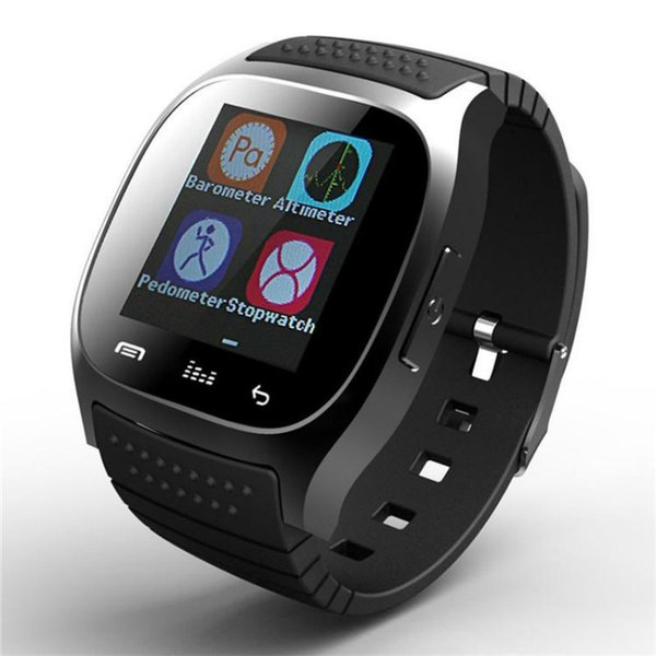 Smart watch M26 Bluetooth Q18 DZ09 Smartwatch Wireless Waterproof Sport Watch With LED Alitmeter Music Player Pedometer For Apple Android