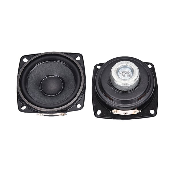 2pcs Full Range Audio Speaker New Neodymium Magnet 8 ohm 10 W Loudspeaker