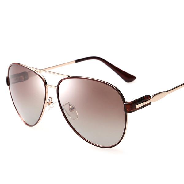 HDSUNFLY Lunettes de soleil polarisées 100% aviation élégantes Femmes lunettes de soleil antéojos pour lunettes féminines UV400