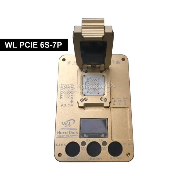 WL PCIE NAND Flash ic chip for iphone 7p 8p hard disk test repair instrument Programmer HDD Serial SN deluxe edition