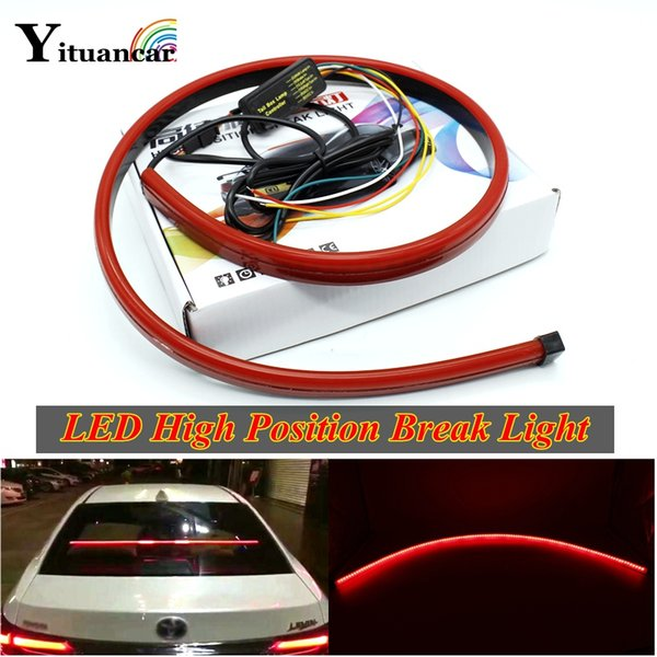 2019 1x 90cm Red Led High Position Break Light Strip Turn Signal Lamp Daytime Running Double Flash Car Styling Tail Light From Miaoze2980 30 15