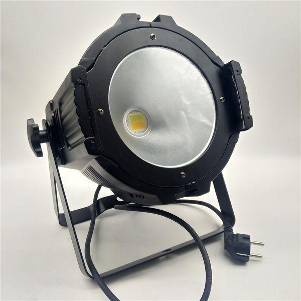 4pcs Boîtier en aluminium moulé 200W COB LED par lumière haute luminosité Deux-tonne led effet de lumière lampe 200 W COB lavage mural fête partie éclairage de scène