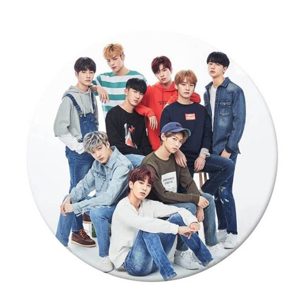 15Pc Stray Kids KPOP Fashion BTS Bangtan Boys Badge Brooch Round Chest Pin Birthday Gift Love Yourself Brooch Jewelry 58mm