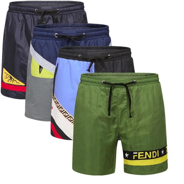Nouveau Board Shorts Hommes Summer Beach Shorts Pants Maillots de bain de haute qualité Bermudes Homme Lettre Surf Life Men Swim