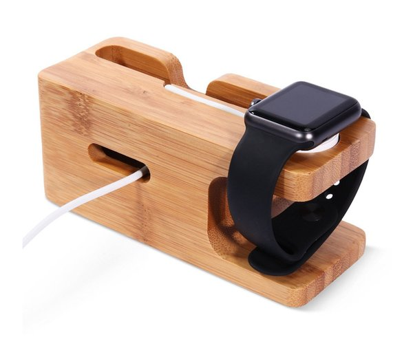 Portable Universal Wooden Phone Holder Stand Office Desk Home Table for iphone Holder Stand For iPhone For Other mobile Phones