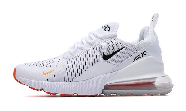 2019nbspnike 270 Cushion Sneaker Designer Shoes 27c Trainer Off Road Star Iron Sprite 3M CNY Hombre General Para Hombres Mujeres 36-45