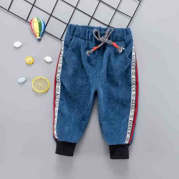 good quality 2019 Spring Winter Newborn Boy Pants Baby Fashion Harlan Pants Baby Casual Stripe Autumn Cotton Children Trousers