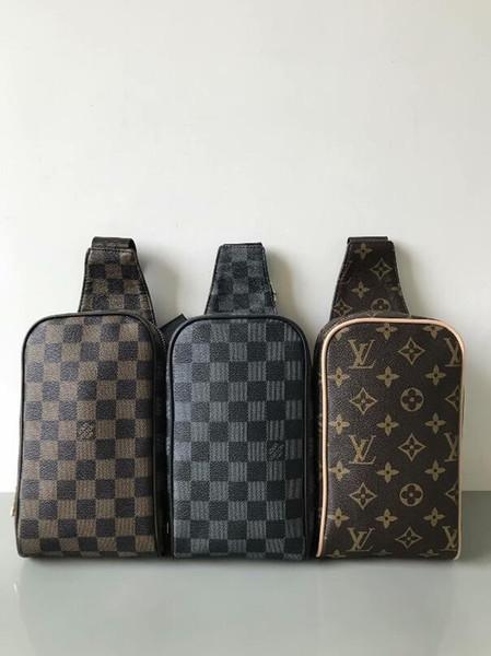 Высокое качество ручной работы мода мужчины слинг сумка креста тела сумки посыльного 4 цвета открытый женщины талии мешок пакет груди мешок