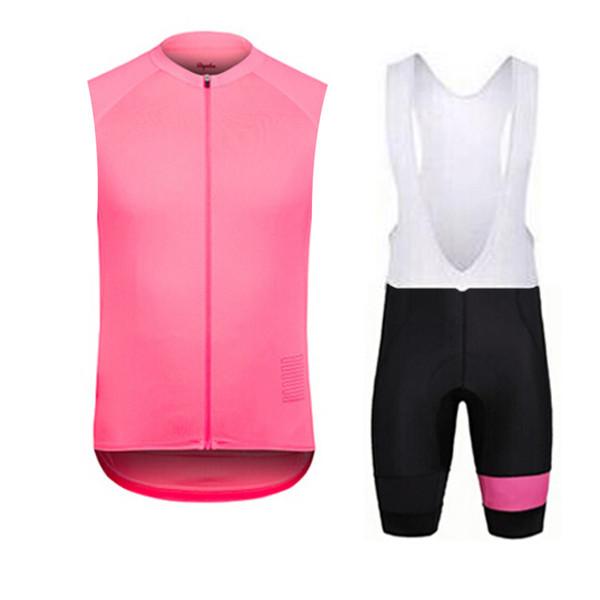 2020 RAPHA estate dei vestiti Nuovo senza maniche corsa ciclismo maglia traspirante biciclette Quick Set secco Maillot Ropa Ciclismo Hombre K121101