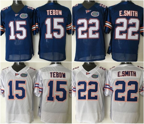 info for a2532 d8a4e 2019 Youth Florida Gators 15 Tim Tebow 22 E.Smith NCAA College Football  Jersey White Orange Blue High Quailty Fast Shipping S XL From Fair Trade,  ...