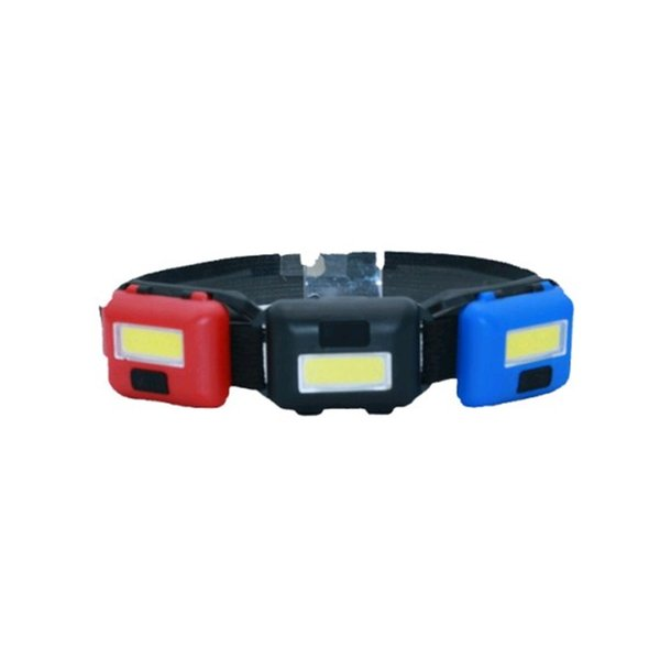 Mini headlamp outdoors front light Mountaineering Night riding Plastic Camping Multi color portable Flexible 2 8tlf1