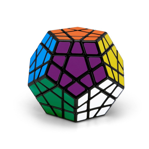 Megaminx Speed Magic Cube Dodecahedron Sticker Cube Puzzle Cube for Beginners Kids to strengthen your memory, train your abilities