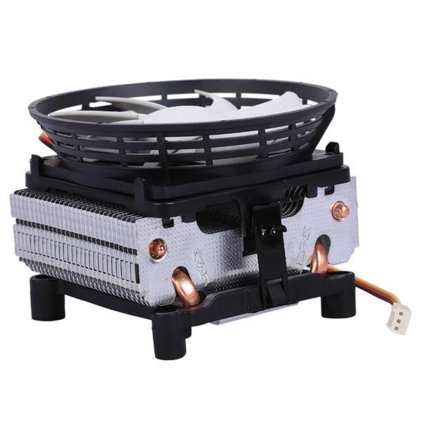 PCCOOLER Seven-spot V4 cpu radiator Full copper 2 heat pipe For AMD/intel cpu silent fan