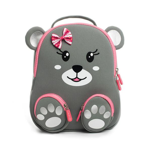 2019 Cocomilo Kindergarten Kids Animal Backpacks Waterproof Schoolbags Satchel Boys Girls Children Cartoon Cat Bear School Bags
