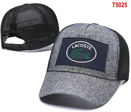 2020 Designers Lacost Caps Classic Famous Brands Skull Hats Embroidered bone Men Women casquette Headwear gorras golf Sports polo Cap 17
