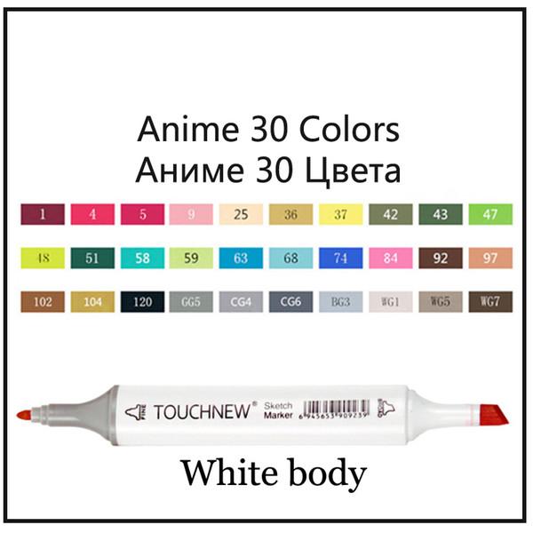 Аниме 30 белое тело