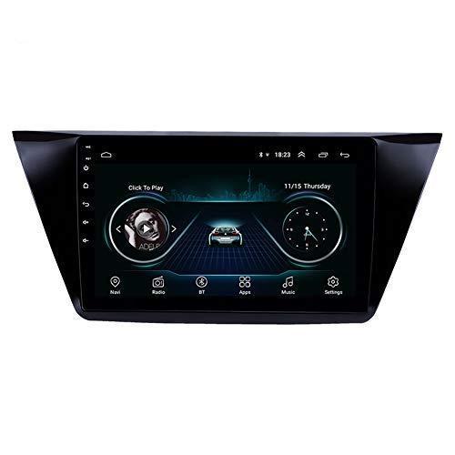 안드로이드 9.0 자동차 자동차 GPS 네비게이션 시스템은 폭스 바겐 폭스 바겐 투란 10.1 인치 정전 용량 방식 터치 스크린은 북미지도를 포함