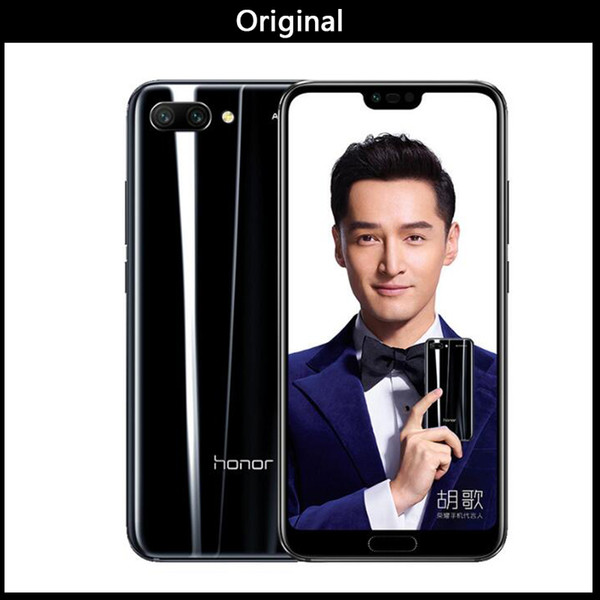Original Huawei Honor 10 Android 8.0 4G LTE Smartphone 3D Curved Glass Kirin 970 AI Processor 5.8 Inch 24MP Camera