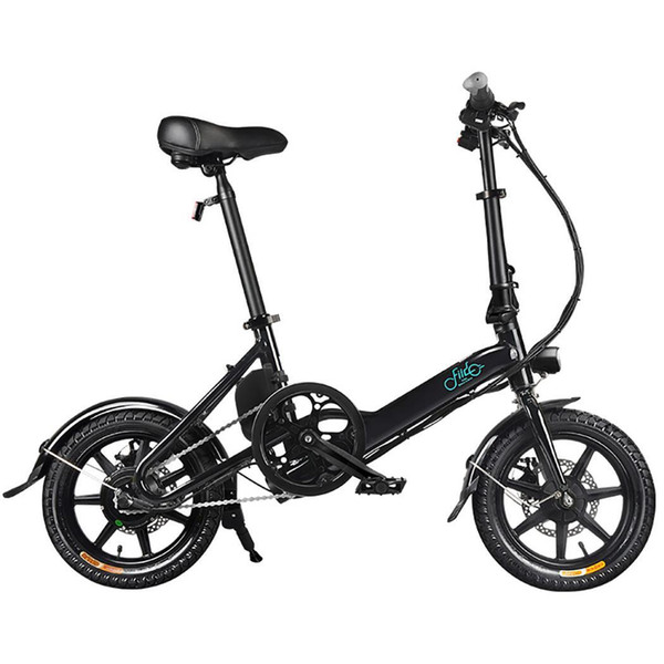 top popular FIIDO Electric Folding Bike Lightweight Aluminum Alloy Folding Bicycle With Tire 250W Hub Motor Electric Bikes 2020