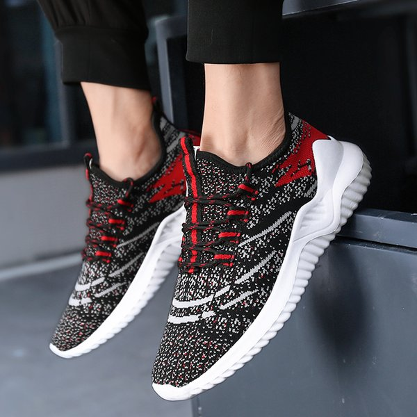 Big size 39-48 Men 2019 Light Weight Shoes men zapatos de mujer High Quality Couple Sports Shoes breathable running shoe