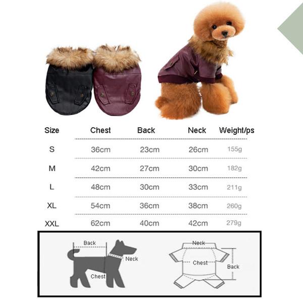 도매 애완 동물 의류 가을 겨울 두꺼운 따뜻한 자켓 개 모피 민소매 코트 가죽 겨울 따뜻한 애완견 강아지 조끼 BH0311