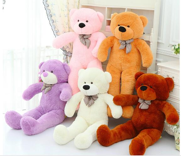 80CM 100CM 120CM 140CM Giant Big Size Teddy Bear Kawaii Plush Toys Peluches Stuffed Animal Juguetes Girls Toys Birthday Present