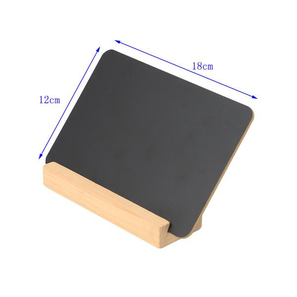 Segno di lavagna da tavolo Segno di mini segno di tavolo da biliardo Segno di cartello di lavagna Segno di legno Cartello di visualizzazione del prezzo di cartellone