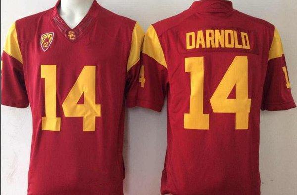 14 Sam Darnold Red