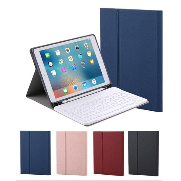 """For ipad pro 10.5"""" ipad 2017 2018 Air 2 9.7"""" Folio Flip Leather Case + Wireless Bluetooth Keyboard 2in1 Smart Protective Cover Shell"""