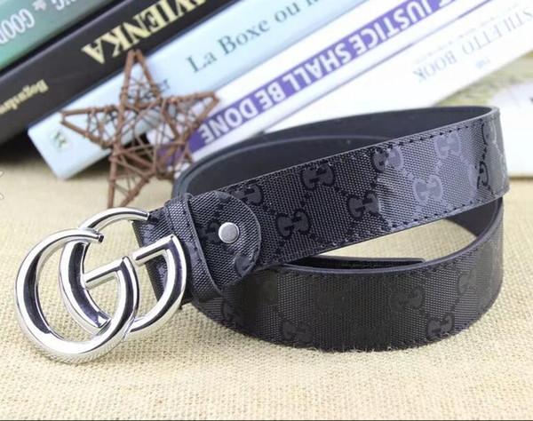 2019 uomini nuovi Wonmen lusso Cintura Designers Top cinture nuovo Big Fibbia cinghia di cuoio all'ingrosso di modo degli uomini della cinghia S-XL