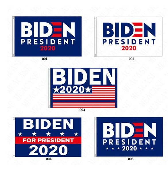 best selling 90*150CM BIDEN 2020 Presidential Campaign Flag The US Election Biden Letters Garden Flags Polyester Garden Home Flags Decoration D62901
