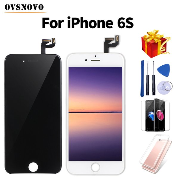 No Dead Pixel LCD for iPhone 6s 7 Display Touch Screen Replacement Assembly For iPhone 5 5s display With Glass Protector&Tools