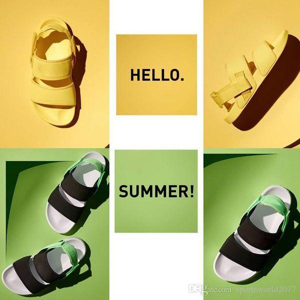 YLM Leadcat Lite Sandali per Uomo Donna Triple Nero Bianco Verde Giallo Fashion Designer Sandali Rihanna Pantofole Beach Shoes 36-44