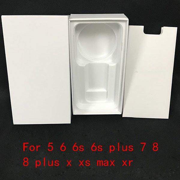 50 Pcs Haute Qualité US Version EU tout le Téléphone Emballage Boîte D'emballage Cas Pour iPhone Sans Accessoires Vide Boîtes Au Détail