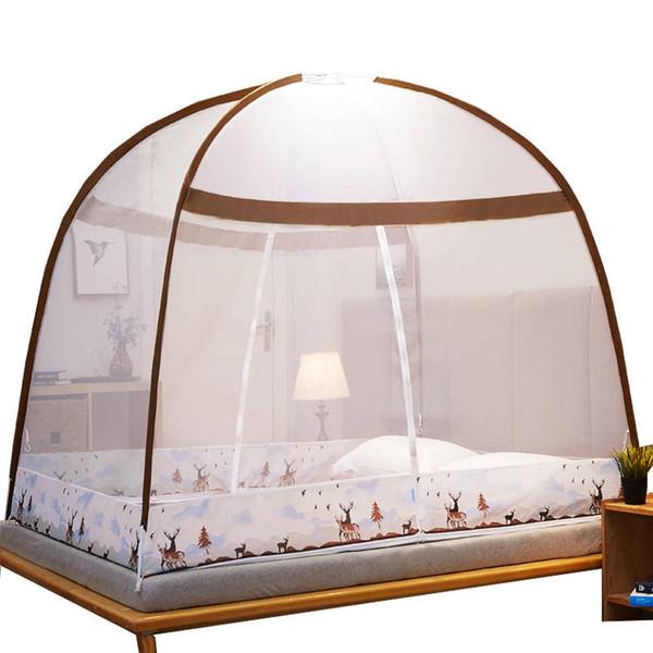Юрт Москитной сетка Baldachim девушки номер Декор Mosquito Кровать Палатка Canopy Cartoon пологи Главной Студенты Общей чистая