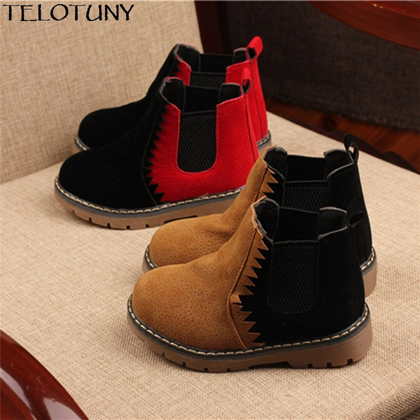 201 New Children Snow Boots Rabbit Warm Winter Boots Fashion Plush Baby Shoes Water-Proof Sneakers Girls Boys Martin YE23