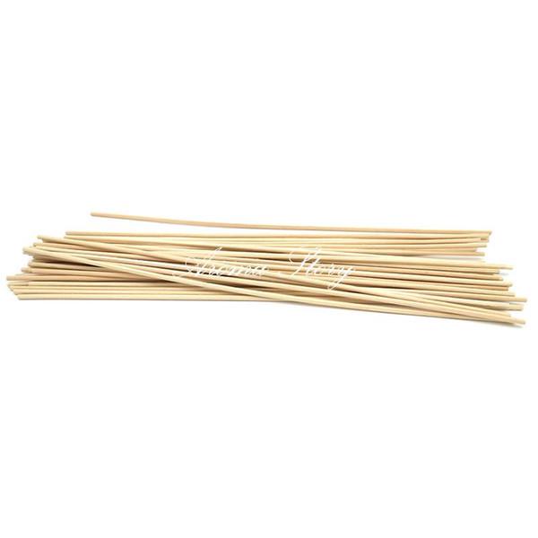 Wholesale- 100pcs/lot 30cmx3mm Rattan Sticks Reed Diffuser Sticks Aromatic Sticks Free Shipping