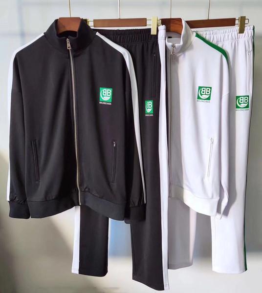 + pantalones calientes nuevas invierno Diseño del chándal de los hombres sudaderas de lujo para hombre otoño Marca del basculador adapta a la chaqueta Establece Sporting mujeres traje Hip Hop Conjuntos