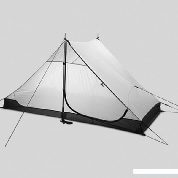 Haute qualité vitesse 3F ul 2 personnes 3 saisons et 4 saisons intérieures de LANSHAN 2 sur la porte tente de camping