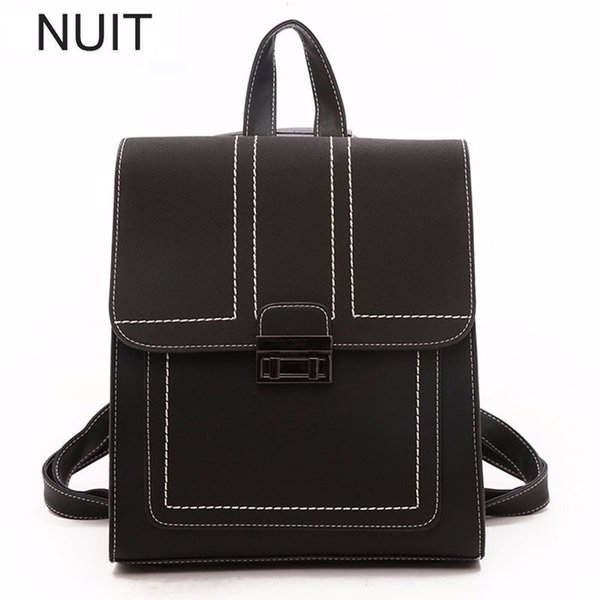 Fashion Women Laptop Backpack For School Teenagers Stylish Pu Leather Ladies Casual Large Capacity School Bag Bagpack Plecak