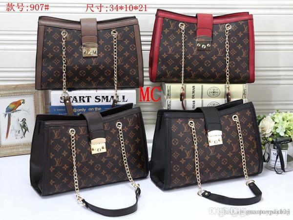 907 MC Best price High Quality women Ladies Single handbag tote Shoulder backpack bag purse wallet