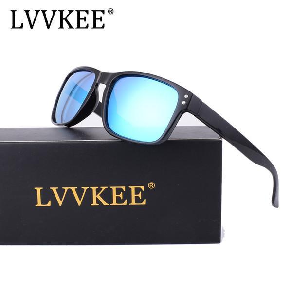 2019 NOVA LVVKEE Luxo Polarizada Das Mulheres Dos Homens ao ar livre Óculos  De Sol Da e68b1fd0bb