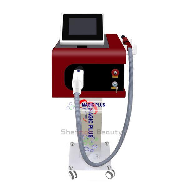 Traitement de l'acné de retrait de tatouage de laser de Picosecond portatif machine de retrait de colorant de cercles avec 532nm 755nm 1064nm 1320nm pour la pigmentation