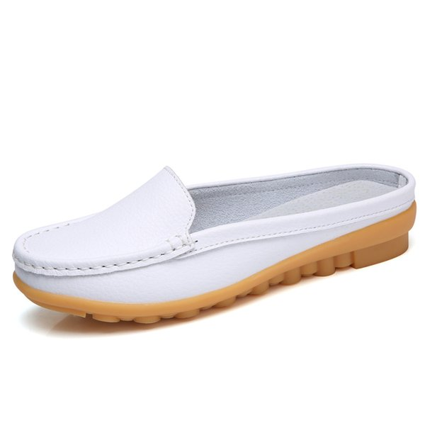 2019 Summer New  Women's Slippers Outdoor TPR Sole Flat with Non-slip Shoes Woman Maternity Shoes 35-41