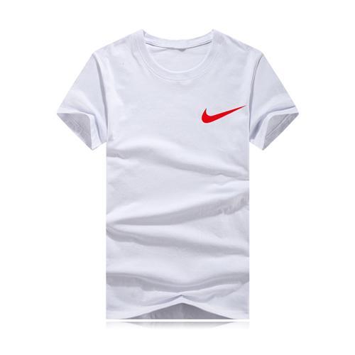 T-shirt uomo manica corta T-Shrits Taglie forti T-shirt 100% cotone Uomo Moda Sport Coccer Ball Wear Casual Tee DXNK-HB