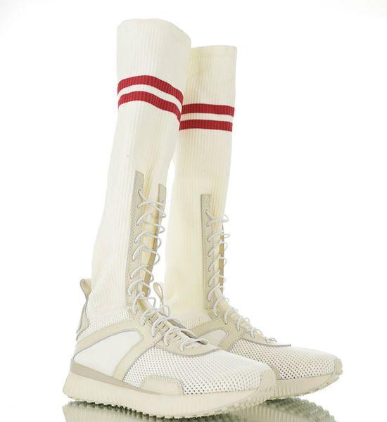 Germany imported long version knitting machine! Goddess Fan Xiangao, Fenty X Rihanna Hi Rihanna Traveler Series Long Tube Socks Boots Casual