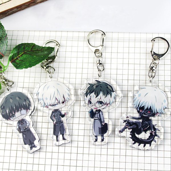 2019 2019 Ghoul Keychain Double Sided Acrylic Key Chain Pendant Anime  Accessories Japanese Cartoon Kids Toy Key Ring From Puddingstation, $40 21  |