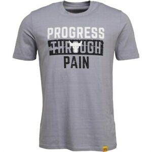 Print Mens x Project RoPrint PTP Charged Cotton Top Grey T-Shirt All Sizes