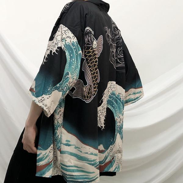 2018 verão estilo china homens de linho de algodão casaco cardigan trincheira masculina xale solto longa kimono blusão outwear
